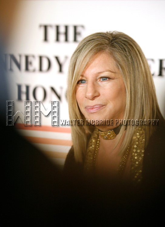 Barbra Streisand .arriving for The 31st Kennedy Center Honors at the Kennedy Center Hall of States in Washington, D.C. December 7, 2008.© Walter McBride   .