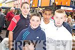 ENJOYING: Mark O'Callaghan, Jonathan Egan, Zdenek Kovac and Keith Clifford, Kenmare, enjoying the Kenmare Fair day on Friday.   Copyright Kerry's Eye 2008