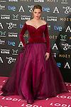 Carolina Bang attend the 2015 Goya Awards at Auditorium Hotel, Madrid,  Spain. February 07, 2015.(ALTERPHOTOS/)Carlos Dafonte)