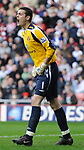 Sunderland's Craig Gordon. during the Premier League match at the Stadium of Light, Sunderland. Picture date 9th March 2008. Picture credit should read: Richard Lee/Sportimage