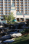Chalet on the Lake hotel located on Table Rock Lake behind the dam in Branson, Missouri