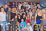 Key to the Door - France Kenny from Ballyheigue, seated centre having a ball with friends and family at his 21st birthday bash held in The White Sands Hotel on Friday night........................................................................................................................................................................................................................................... ............