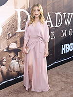 "14 May 2019 - Hollywood, California - Jade Pettyjohn. HBO's ""Deadwood"" Los Angeles Premiere held at the Arclight Hollywood.   <br /> CAP/ADM/BT<br /> ©BT/ADM/Capital Pictures"