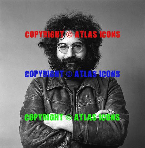 Jerry Garcia, The Grateful Dead 1969. Belvedere St. Studio, San Francisco, CA.<br /> Photo Credit: Baron Wolman\AtlasIcons.com