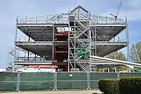Camera View: East. West Elevation. Central Connecticut State University. New Academic Building.  Project No: BI-RC-324. Architect: Burt Hill Kosar Rittelmann Associates. Contractor: Gilbane Building Company, Glastonbury, CT.