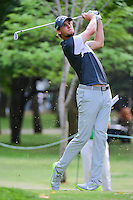 Thomas Pieters (BEL) watches his tee shot on 7 during round 2 of the World Golf Championships, Mexico, Club De Golf Chapultepec, Mexico City, Mexico. 3/3/2017.<br /> Picture: Golffile | Ken Murray<br /> <br /> <br /> All photo usage must carry mandatory copyright credit (&copy; Golffile | Ken Murray)