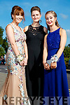 Alana O'Connor, Lunasa Parkinson and Niamh Brouder, enjoying Causeway Comprehensive School Debs, at Ballyroe Heights Hotel, Tralee, on Wednesday, August 9th last,