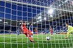 Christoph Baumgartner (Hoffenheim) (nicht im Bild) schiesst das Tor zum 2-0 gegen Torwart Timo Horn (r/1. FC Koeln) und Mere Jorge (l/1. FC Koeln).<br /> <br /> Sport: Fussball: 1. Bundesliga: Saison 19/20: 28. Spieltag: TSG 1899 Hoffenheim - 1. FC Koeln, 27.05.2020<br /> <br /> Foto: Markus Gilliar/GES/POOL/PIX-Sportfotos.<br /> <br /> Nur für journalistische Zwecke! Only for editorial use!<br /> <br /> Gemäß den Vorgaben der DFL Deutsche Fußball Liga ist es untersagt, in dem Stadion und/oder vom Spiel angefertigte Fotoaufnahmen in Form von Sequenzbildern und/oder videoähnlichen Fotostrecken zu verwerten bzw. verwerten zu lassen. DFL regulations prohibit any use of photographs as image sequences and/or quasi-video.