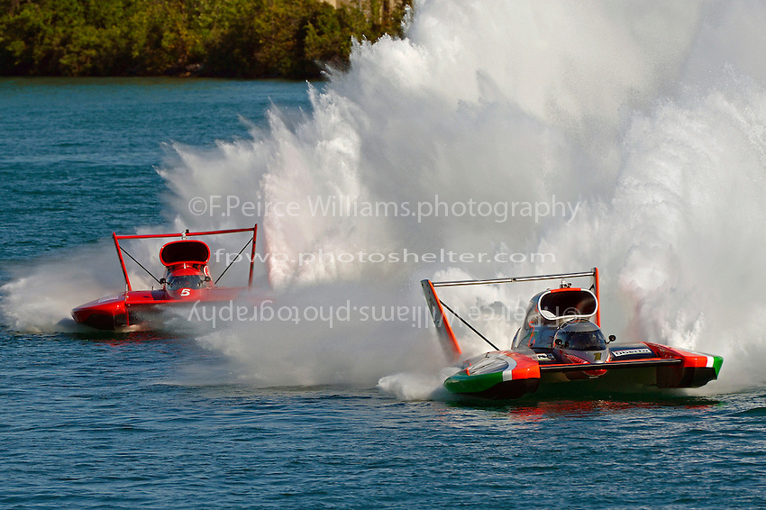 "Jimmy Shane, U-1 ""Oberto"" and J. Michael Kelly, U-5 ""Graham Trucking I""  (Unlimited Hydroplane)"