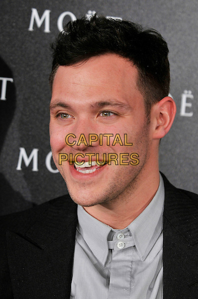 WILL YOUNG .Moet & Chandon hosts a Tribute to Cinema at Big Sky Studios, Brewerey Road, London, England, UK, .25th March 2009..and et portrait headshot grey gray shirt stubble facial hair .CAP/PL.©Phil Loftus/Capital Pictures