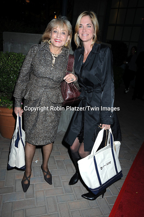 Barbara Walters and Kassie DePaiva attending ABC Casino Night on October 28, 2010 at Guastavinos in New York City. .