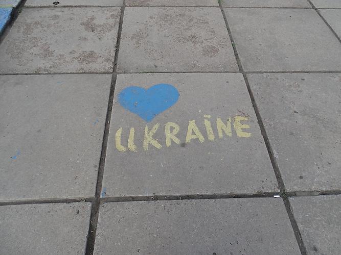 Kramatorsk liegt im ukrainischen Teil des Donbass 80 km von der Frontlinie entfernt. Die Bewohner sind sehr patriotisch.