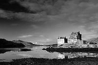Eilean Donan Castle and Loch Duich, Dornie, Highland