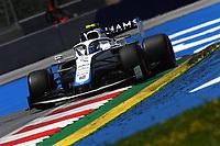 4th July 2020; Red Bull Ring, Spielberg Austria; F1 Grand Prix of Austria, qualifying sessions;  6 Nicholas Latifi CAN, Williams Racing