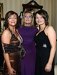 Aisling Duffy from Sizzlers, Kate Kerley from the Barber Shop and Karen Duffy from The Station enjoying a night off at the Ardee Traders awards night in Darver Castle. Photo:Colin Bell/pressphotos.ie