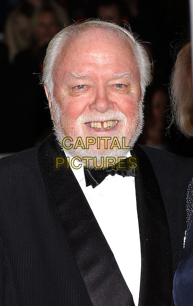 RICHARD ATTENBOROUGH.Bafta Awards - British Academy Awards at Odeon Leicester Square.15 February 2004.portrait, headshot.www.capitalpictures.com.sales@capitalpictures.com.©Capital Pictures
