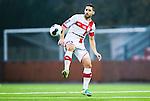 S&ouml;dert&auml;lje 2014-11-09 Fotboll Kval till Superettan Assyriska FF - &Ouml;rgryte IS :  <br /> Assyriskas David Durmaz i aktion under matchen mellan Assyriska FF och &Ouml;rgryte IS <br /> (Foto: Kenta J&ouml;nsson) Nyckelord:  S&ouml;dert&auml;lje Fotbollsarena Kval Superettan Assyriska AFF &Ouml;rgryte &Ouml;IS portr&auml;tt portrait