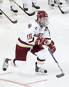 Joe Whitney (BC - 15) - The Boston College Eagles defeated the visiting University of Toronto Varsity Blues 8-0 in an exhibition game on Sunday afternoon, October 3, 2010, at Conte Forum in Chestnut Hill, MA.