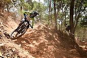 7th September 2017, Smithfield Forest, Cairns, Australia; UCI Mountain Bike World Championships; Jure Zabjek (SLO) from UNIOR TOOLS TEAM during downhill practice