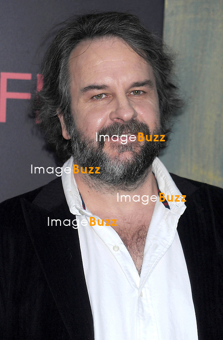 "Peter Jackson at the premiere of ""The Hobbit: An Unexpected Journey""..New York City, December 6, 2012."