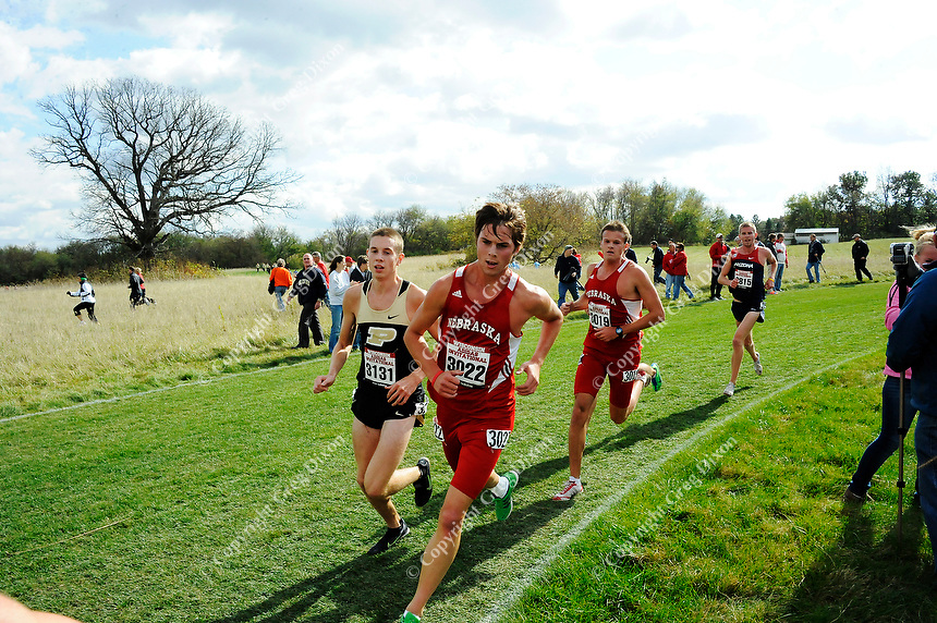 The Purdue University cross country team competes at the Adidas Elite Invitational on Friday at the Thomas Zimmer Championship Course in Madison