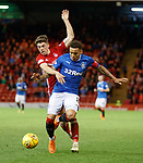 08.05.2018 Aberdeen v Rangers: Ryan Christie and James Tavernier