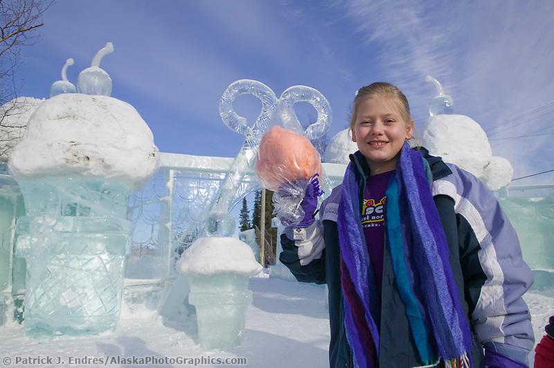 Kiddie Park, 2004 World Ice Art Championships, Fairbanks Alaska.