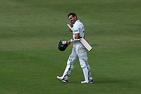 Daryl Mitchell of Worcestershire leaves the field having been dismissed during Worcestershire CCC vs Essex CCC, Specsavers County Championship Division 1 Cricket at New Road on 13th May 2018