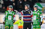 Stockholm 2014-03-01 Bandy SM-semifinal 1 Hammarby IF - V&auml;ster&aring;s SK :  <br /> domare Peter &Ouml;hrlund gestikulerar<br /> (Foto: Kenta J&ouml;nsson) Nyckelord:  VSK Bajen HIF portr&auml;tt portrait