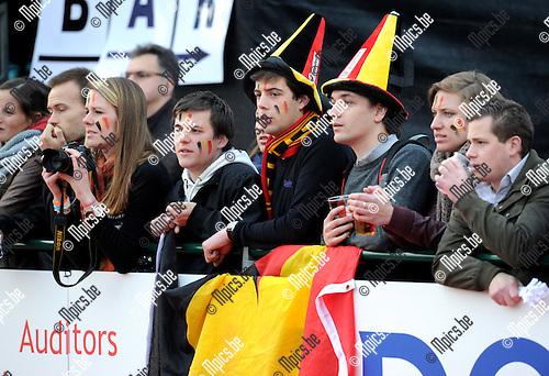 2012-03-20 / Hockey / seizoen 2011-2012 / Red Panthers - Nationale Damesploeg België / publiek / sfeer..Foto: Mpics.be