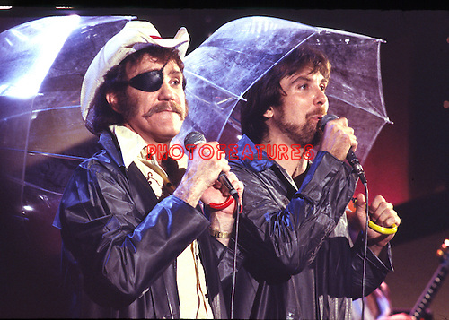 Dr. Hook 1980 on Midnight Special Ray Sawyer and Dennis Locorriere © Chris Walter