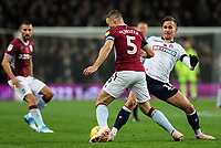 Bolton Wanderers' Pawel Olkowski competing with Aston Villa's James Chester<br /> <br /> Photographer Andrew Kearns/CameraSport<br /> <br /> The EFL Sky Bet Championship - Aston Villa v Bolton Wanderers - Friday 2nd November 2018 - Villa Park - Birmingham<br /> <br /> World Copyright &copy; 2018 CameraSport. All rights reserved. 43 Linden Ave. Countesthorpe. Leicester. England. LE8 5PG - Tel: +44 (0) 116 277 4147 - admin@camerasport.com - www.camerasport.com