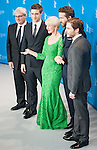 Actress Helen Mirren, Ryan Reynolds, Daniel Bruhl and Max Irons promotes film woman in gold during the LXV Berlin film festival, Berlinale at Potsdamer Straße in Berlin on February 9, 2015. Samuel de Roman / Photocall3000 / Dyd fotografos-DYDPPA.