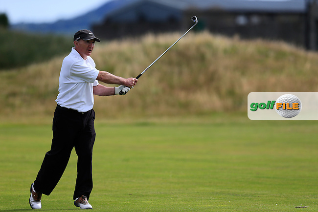 Ronan O'Houlihan (Nass) during the Leinster semi final of the Jimmy Bruen, Royal Dublin Golf Club,Dublin, Ireland.  01/08/2015.<br /> Picture: Golffile | Fran Caffrey<br /> <br /> <br /> All photo usage must carry mandatory copyright credit (&copy; Golffile | Fran Caffrey)