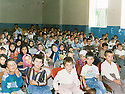 Iran 1989.In Sinne, a concert given to the children of Halabja.Iran1989.Concert donne a Sinne pour les enfants refugies d'Halabja