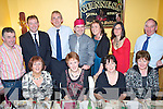 Enjoying a great night out at the Kilmoyley Golf Society's Annual Xmas Dinner held in Harty's Bar & Restaurant on Saturday night were seated l/r Mary Diggin, Eileen Leen, Bernie Meehan, And Julie O'Connor, standing l/r Nicky Cooke, Brendan Godley, Michael Meehan, Diarmuid Leeen, Rosarie Godley, Geraldine Cooke and P.J. O'Connor........................................................................ ............   Copyright Kerry's Eye 2008