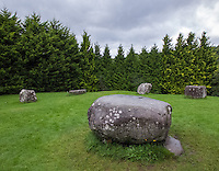County Kerry, Ireland:<br /> Center dolman stone of the Kenmare stone circle