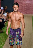 Ismael Garcia at Julia Veli Swimwear Show during Funkshion Fashion Swim Week 2013 at Miami Beach, FL on July 19, 2012