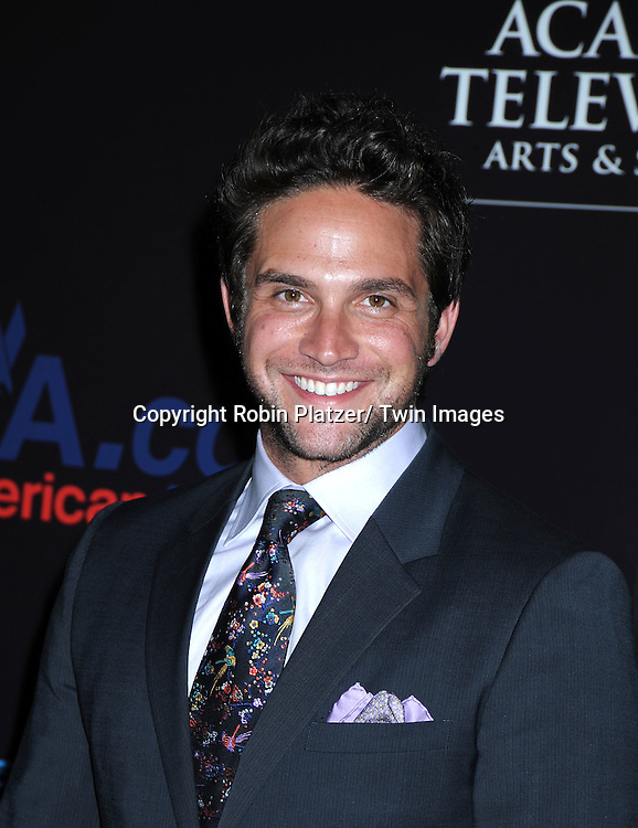 Brandon Barash arriving at the 37th Annual Daytime Emmy Awards at The Hilton in Las Vegas in Nevada on June 27, 2010