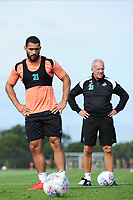 Cameron Carter-Vickers of Swansea City during the Swansea City Training Session at The Fairwood Training Ground, Wales, UK. Thursday 30th August 2018