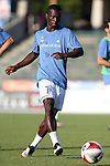 01 June 2016: Charlotte's Yann Ekra (CIV). The Carolina RailHawks hosted the Charlotte Independence at WakeMed Stadium in Cary, North Carolina in a 2016 Lamar Hunt U.S. Open Cup third round game. The RailHawks won 5-0 after extra time after regulation ended in a 0-0 tie.