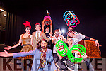 Performers at Tralee Circus Festival at Siamsa Tire Theatre, Tralee on Saturday afternoon last were l-r: Kelsa Dine, Scottie Walsh, Mr Mustache, Flora, Thibaud, Tony Pezzo, Patrik Elmnert Monsieur Gusto and Wes Peden.