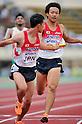 Yusuke Ishitsuka (JPN), JULY 10th, 2011 - Athletics : The 19th Asian Athletics Championships Hyogo/Kobe, Men's 4x400m Relay Final at Kobe Sports Park Stadium, Hyogo in Japan. (Photo by Jun Tsukida/AFLO SPORT) [0003].