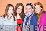 Celebrating the rededication of St. Michael's Church in Lixnaw on Friday night were. .Jennifer Conway, Samantha Stackpoole, Maura Stack and Olivia Quilter.   Copyright Kerry's Eye 2008