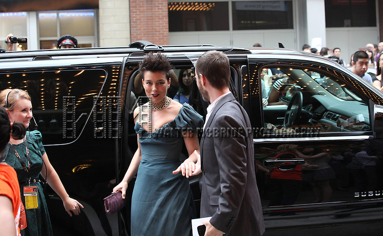 Olivia Williams attending the The 2012 Toronto International Film Festival.Red Carpet Arrivals for 'Anna Karenina' at the Elgin Theatre in Toronto on 9/7/2012