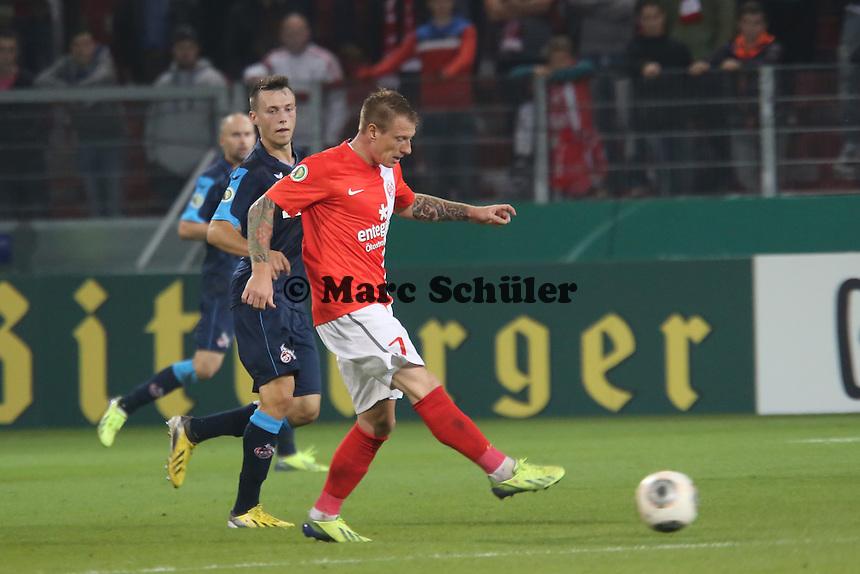 Niki Zimling (Mainz)- 1. FSV Mainz 05 vs. 1. FC Köln, Coface Arena, 2. Runde DFB-Pokal