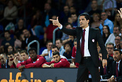 3rd November 2017, Palau Blaugrana, Barcelona, Spain; Turkish Airlines Euroleague Basketball, FC Barcelona Lassa versus Olympiacos Piraeus; Head coach SFAIROPOULOS, IOANNIS in action during the match of round 5 of regular season in the 2017/2018 Turkish Airlines EuroLeague
