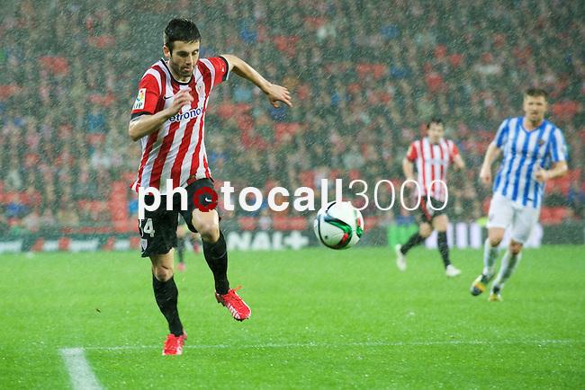 Football match during La Copa del rey, between the teams Athletic Club and Malaga CF<br /> Bilbao, 30-01-14<br /> susaeta<br /> Rafa Marrodán&Alex Zugaza/PHOTOCALL3000