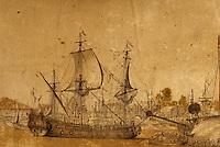 Europe/France/Poitou-Charentes/17/Charente-Maritime/Rochefort: Le musée d'art et d'histoire - Chantier des constructions Rochefort (1690)