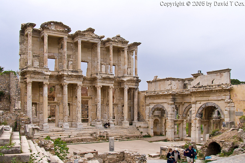 Great LIbrary of Celsius at Ephesus, Turkey